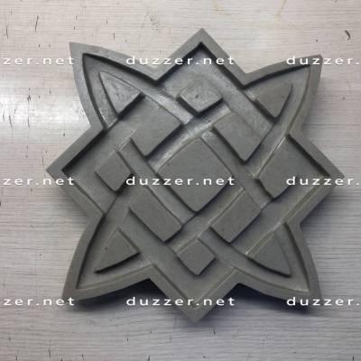 Concrete stamp «Slavic symbols»