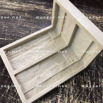 Сoncrete stone mold «Boston» Moulded corner
