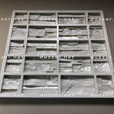 Сoncrete stone mold «Grotto» compound angle