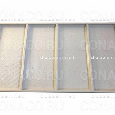 Сoncrete stone mold «Turkish travertine»