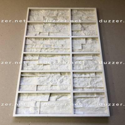 Сoncrete stone mold «Carpathian shale» Composite angle