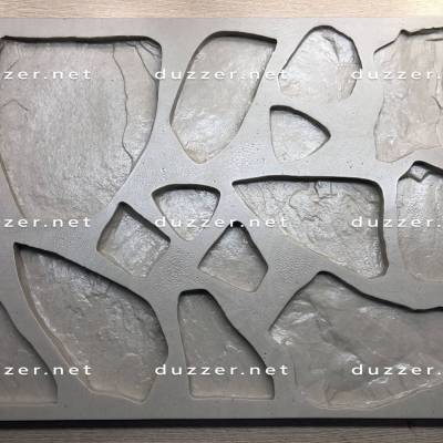 Сoncrete stone mold «Booth new»
