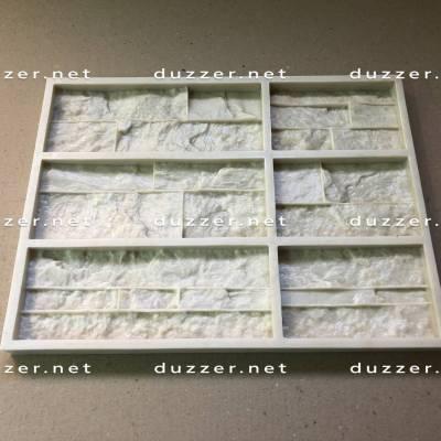 Сoncrete stone mold «Carpathian shale panel»