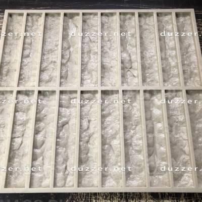 Сoncrete stone mold «Cut limestone»