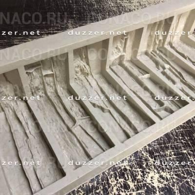 Сoncrete stone mold «Tanwald panel» Moulded corner