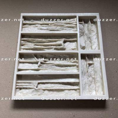 Сoncrete stone mold «Limestone pile»