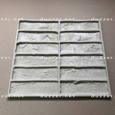 Rubber brick mold «Factory brick»