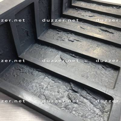 Rubber brick mold Moulded corner «Factory brick»