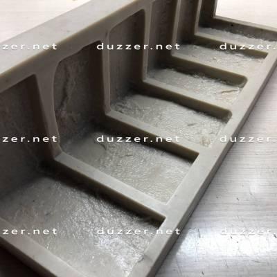 Rubber brick mold Moulded corner «Factory brick S-2cm»