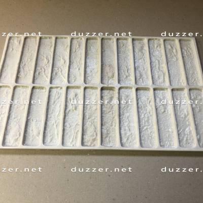 Rubber brick mold «Chamotte brick»