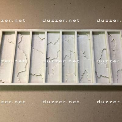 Rubber brick mold «Brick 3D mosaics»
