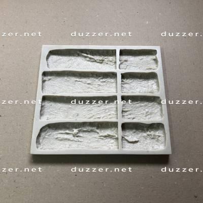 Rubber brick mold «Old brick» Composite angle