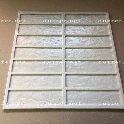 Rubber brick mold «Clinker smooth»