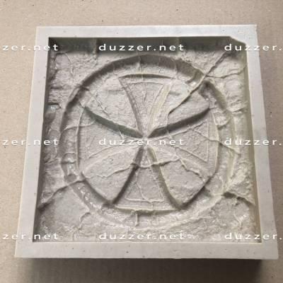 Polyurethane mold Cross