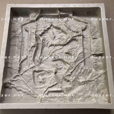 Polyurethane mold Lion
