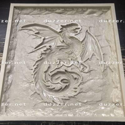 Polyurethane mold Eastern Dragon