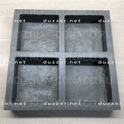 Paving slabs mold «Cobblestone Booth»