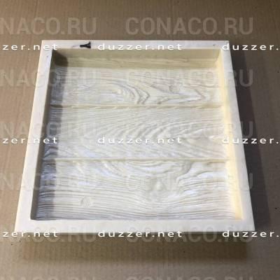 Paving slabs mold «Tiles like wood»