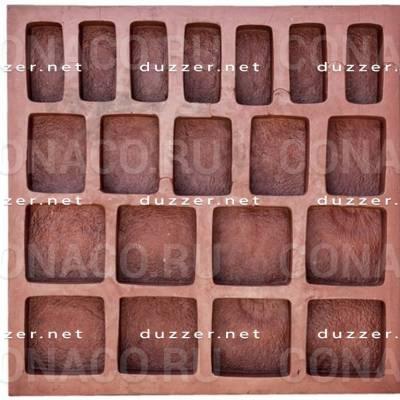 Paving slabs mold «Cobblestone»