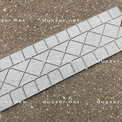 Concrete stamp «Venetian diamond curb»